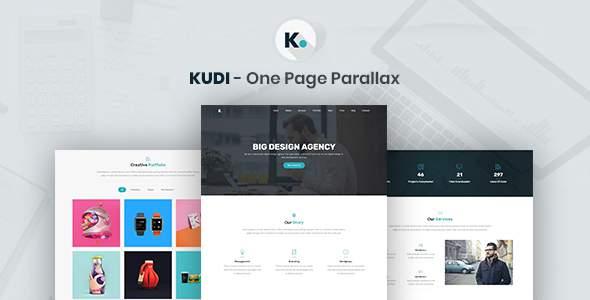 Kudi - One Page Parallax            TFx Rokuro Harper