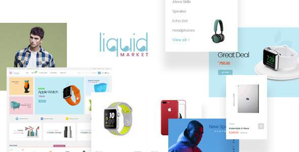 Leo Liquid – Multistore Theme for Hitech, Fashion, Beauty, Furniture            TFx Aric Finnegan