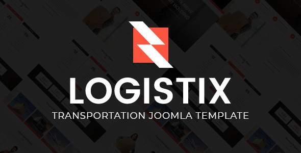 Logistix | Responsive Transportation Joomla Template            TFx Jase Ash