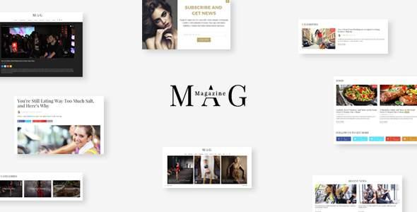 Mag | Online News & Magazine Joomla Template            TFx Jaden Roydon