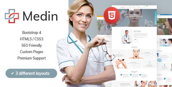 Medin - Medical Clinic HTML Template            TFx Ingram Macbeth