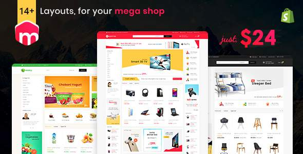 Mega Shop - Shopify Multi-Purpose Responsive Theme            TFx Jadyn Esmund