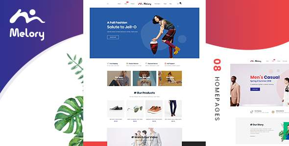 Melory - Smoothy PSD Template for Fashion Store            TFx Audley Nanuk