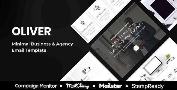 Oliver – Minimal Multipurpose Responsive Agency Email Template – StampReady + Mailster + Mailchimp            TFx Bret Hannibal