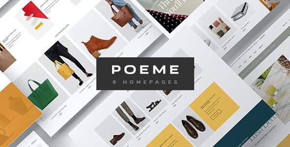 Poeme - Dynamic Multipurpose WooCommerce WordPress Theme            TFx Sandy Radclyffe