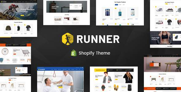 Runner - Sectioned Multipurpose Shopify Theme            TFx Zoroaster Chesley