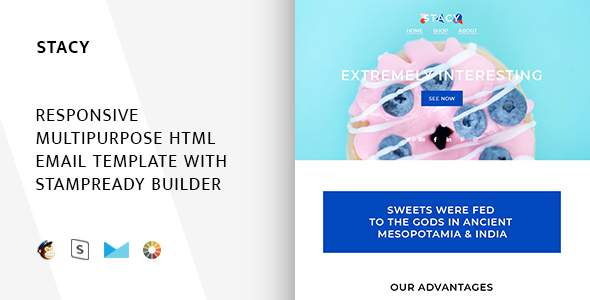 Stacy – Responsive Email + StampReady Builder            TFx Red Larry