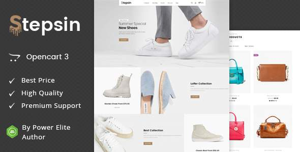 Stepsin – Multipurpose OpenCart 3 Theme            TFx Hector Randolf