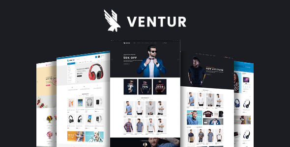 Ventur - Fashion OpenCart Theme (Included Color Swatches)            TFx Ronald Katashi