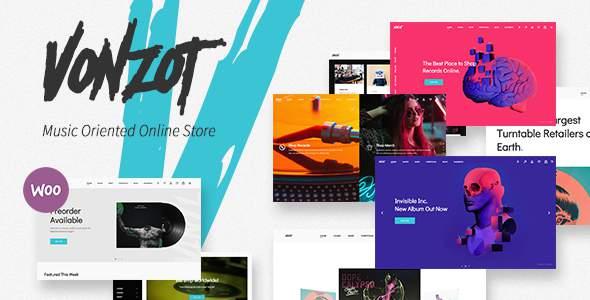 Vonzot - Music Oriented WooCommerce Theme            TFx Lionel Everett