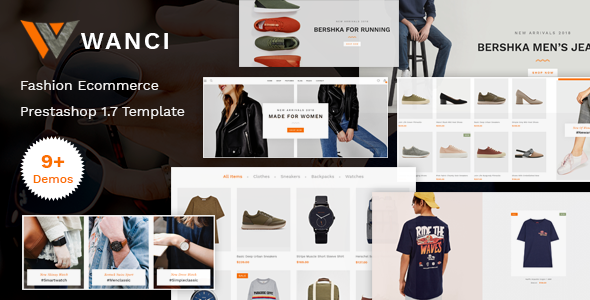 Wanci - Responsive Fashion Prestashop Theme            TFx Kiefer Cameron
