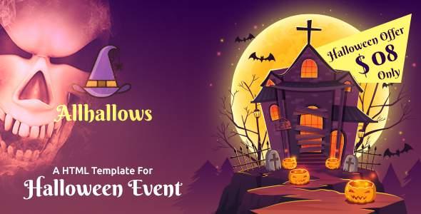 Allhallows - Halloween HTML Template            TFx Moe Robin