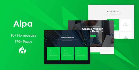 Alpa - Responsive MultiPurpose Drupal 8 Theme | Business            TFx Takara Beau