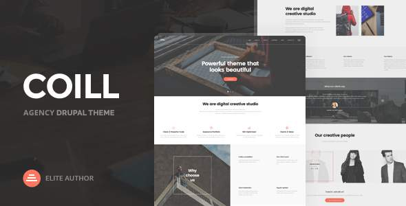 Coill | Business & Agency Drupal Theme            TFx Joss Leslie