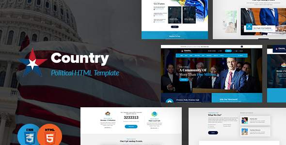 Country – Political HTML Template            TFx Biff Faron