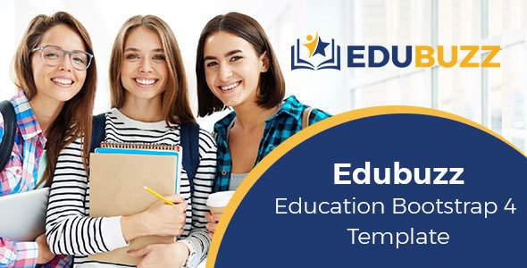 Edubuzz - Education Bootstrap 4 Template            TFx Dakota Takeshi