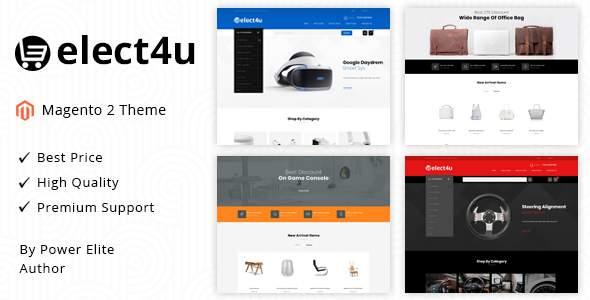 Elect4u – Responsive Magento 2 Theme            TFx Bert Mason