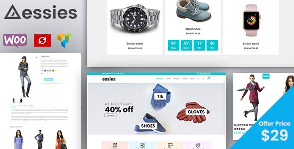 Essies – Modern Fashion WooCommerce Theme            TFx Walker Napier