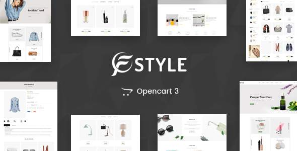 F-Sytle Multipurpose OpenCart 3 Theme            TFx Devereux Pacey
