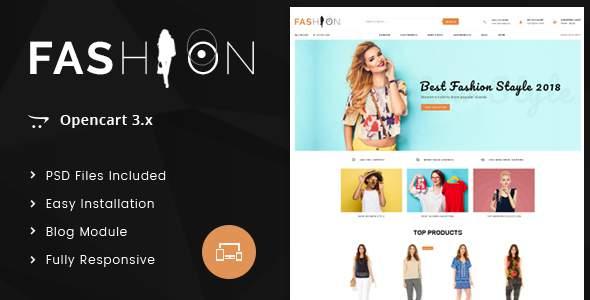 Fashion - OpenCart 3.x Responsive Theme            TFx Ozzy Kole