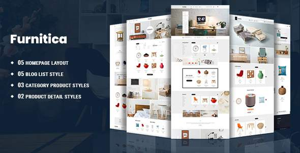 Furnitica - Minimalist Furniture HTML Template            TFx Schuyler Poghos