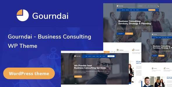 Gourndai – Business Consulting WordPress Theme            TFx Clint Ezra