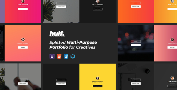 HULF — Splitted Multi-Purpose Portfolio for Creatives            TFx Beckett Brant