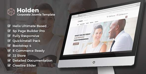 Holden – Corporate Business Joomla Template with Page Builder            TFx Jessie Terrell