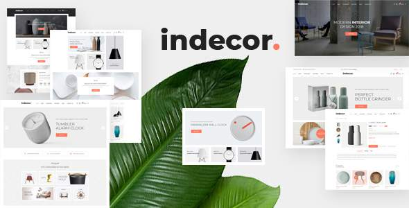 Indecor – Furniture eCommerce Bootstrap 4 Template            TFx Darion Dexter