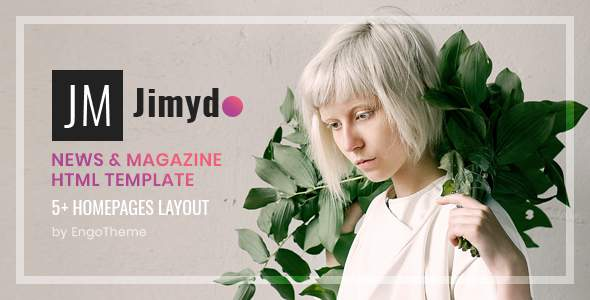 JIMYDO – News & Magazine HTML Template            TFx Darrel Hideaki