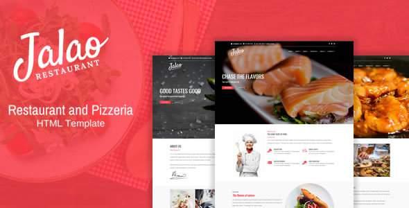 Jalao – Restaurant & Pizza HTML Template            TFx Carver Tasunka