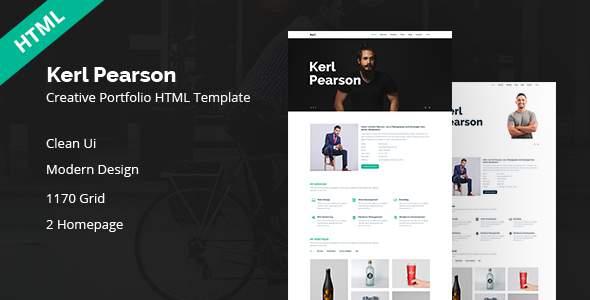 Kerl Pearson || Creativ HTML Template            TFx Mervyn Bysshe