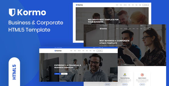 Kormo – Multipurpose Business & Corporate HTML5 Template            TFx Laird Melvyn