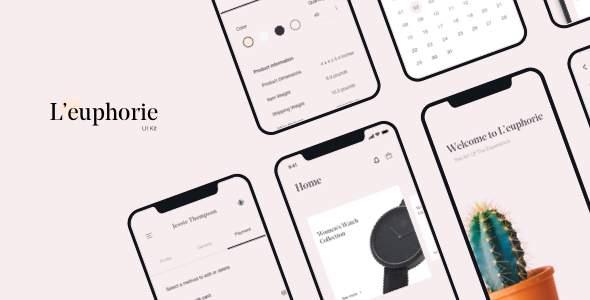 L'euphorie Mobile UI Kit            TFx Finlay Emmett