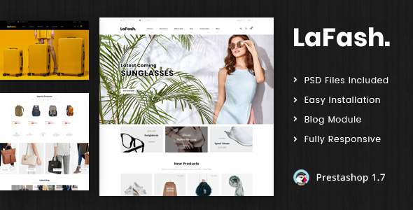 LaFash – Multipurpose Prestashop 1.7 Responsive Theme            TFx Made Tully