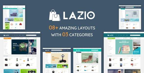 Lazio – Multipurpose eCommerce Bootstrap 4 Template            TFx Susilo Kenneth
