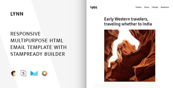 Lynn – Responsive Email + StampReady Builder & Mailchimp            TFx Citlalli Morris