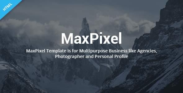 MaxPixel – Multipurpose Parallax Template            TFx Lamar Ferdy