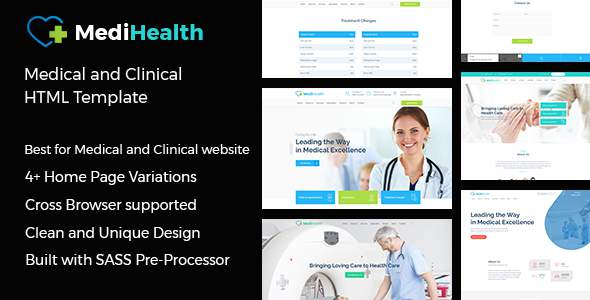 MediHealth - Medical and Clinical HTML Template            TFx Neely Hikaru