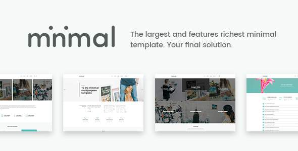 Minimal – The Final Minimal Solution Joomla Template            TFx Livy September