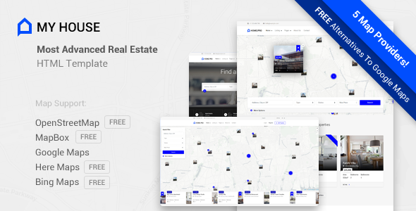 My House – Advanced Real Estate Template            TFx Iman Moss