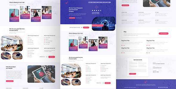 N-Agency Single Page PSD Template            TFx Krisna Bevis
