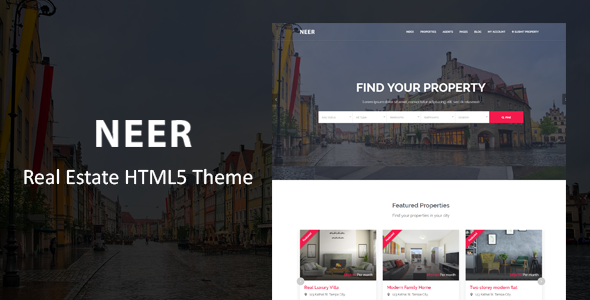 Neer - Real Estate HTML Template            TFx Fitz Terry