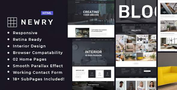 Newry – Architecture & Interior Template            TFx Franny Heath