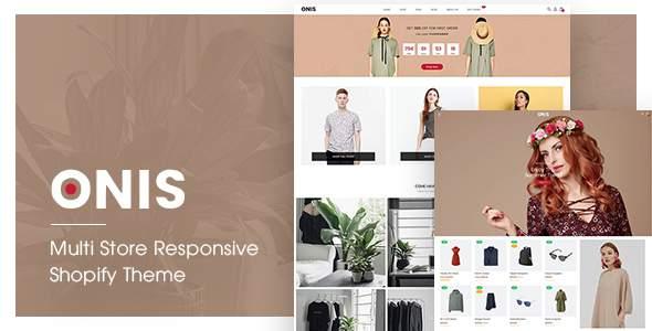 ONIS | Multi Store Responsive Shopify Theme            TFx Quinton Leighton