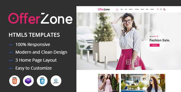 OfferZone - Fashion HTML Templates            TFx Xochipilli Cody