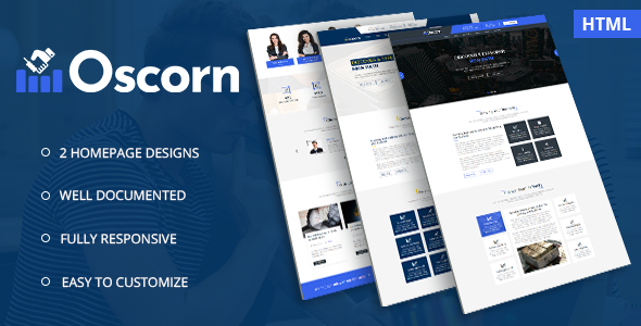 Oscorn - Business Finance HTML Template            TFx Darrel Weldon