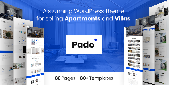 Pado – Theme for Single Properties and Apartments, Villas and Complexes            TFx Norwood Jed