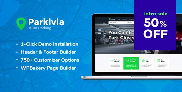 Parkivia | Auto Parking & Car Maintenance WordPress Theme            TFx Cole Sacheverell
