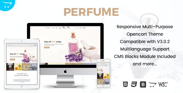 Perfume – Opencart Multi-Purpose Responsive Theme            TFx Dom Kenrick